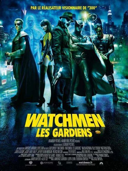 watchmen - les gardiens - zack snyder - affiche
