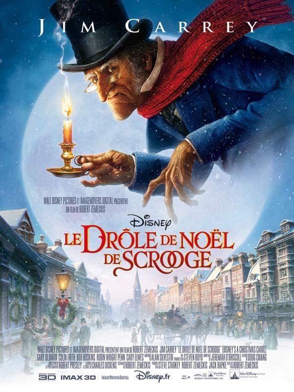 le_drole_de_noel_de_scrooge_a_christmas_carol_disney_robert_zemeckis_jim_carrey_affiche_poster