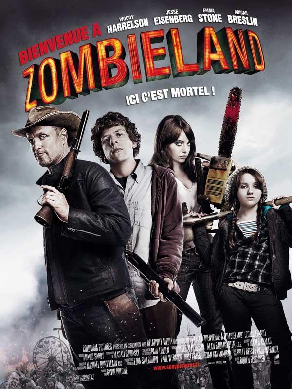 bienvenue_a_zombieland_ruben_fleischer_woody_harrelson_jesse_eisenberg_poster_affiche