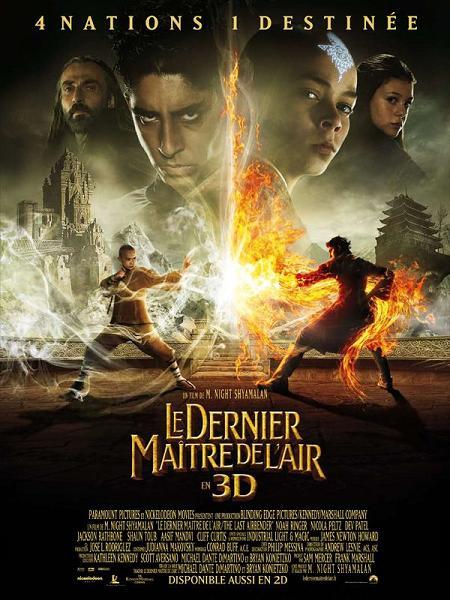 le_dernier_maitre_de_l_air_avatar_the_last_airbender_m_night_shyamalan_noah_ringer_dev_patel_jackson_rathbone_affiche_poster