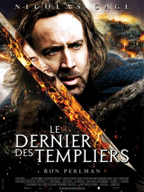 le dernier des templiers_season of the witch_nicolas cage_ron perlman_christopher lee_claire foy_dominic sena_affiche_poster