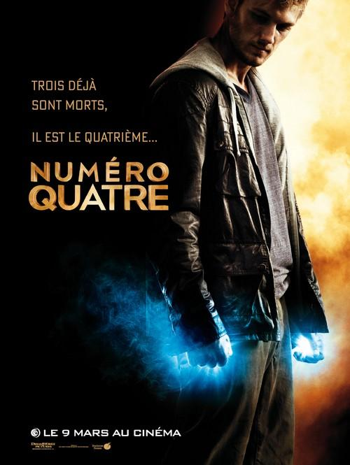numero quatre_i am number four_alex pettyfer_teresa palmer_timothy olyphant_kevin durand_dj caruso_affiche_poster