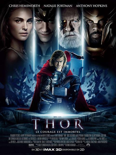 thor_chris hemsworth_natalie portman_anthony hopkins_kat dennings_tom hiddleston_kenneth branagh_affiche_poster