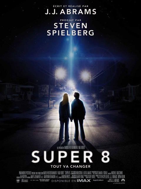 super 8_Joel Courtney_Elle Fanning_Kyle Chandler_J.J. Abrams_Steven Spielberg_Amblin_affiche_poster