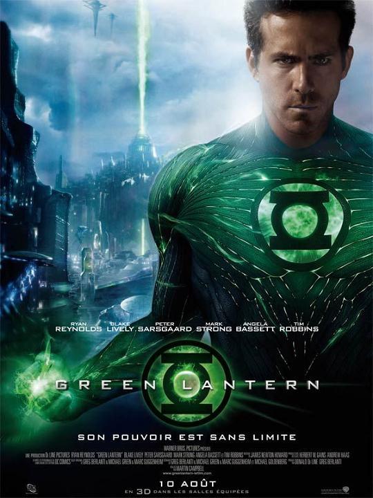 green lantern_ryan reynolds_blake lively_peter sarsgaard_mark strong_tim robbins_martin campbell_dc comics_affiche_poster