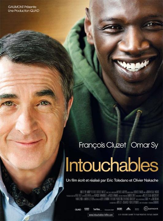 intouchables_omar sy_françois cluzet_eric toledano_olivier nakache_affiche_poster