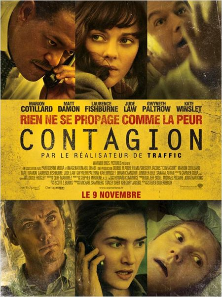 contagion_kate winslet_jude law_laurence fishburne_matt damon_marion cotillard_steven soderbergh_affiche_poster