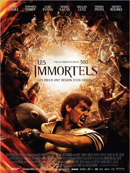 les immortels_immortals_henry cavill_mickey rourke_freida pinto_tarsem singh_affiche_poster