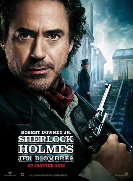 sherlock holmes jeu d'ombres_game of shadows_robert downey jr_jude law_guy ritchie_affiche_poster