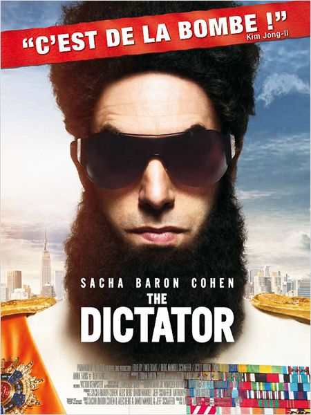 the dictator_sacha baron cohen_anna faris_ben kingsley_larry charles_affiche_poster