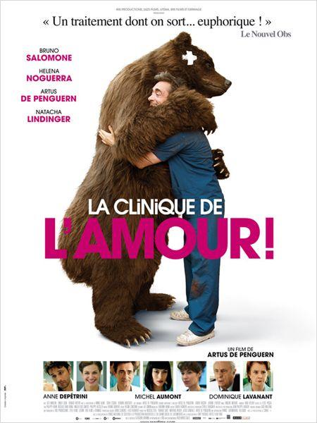 la clinique de l'amour_artus de penguern_helena noguerra_bruno salomone_affiche_poster