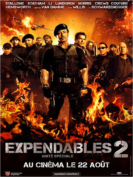 expendables 2_sylvester stallone_arnold schwarzenegger_chuck norris_simon west_affiche_poster