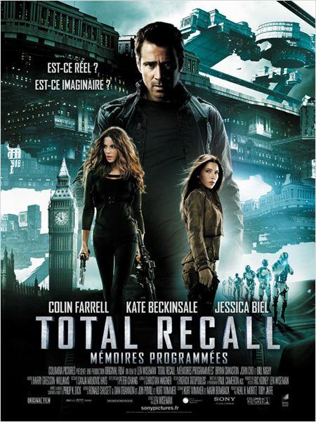 total recall_colin farrell_kate beckinsale_jessica biel_len wiseman_remake_affiche_poster