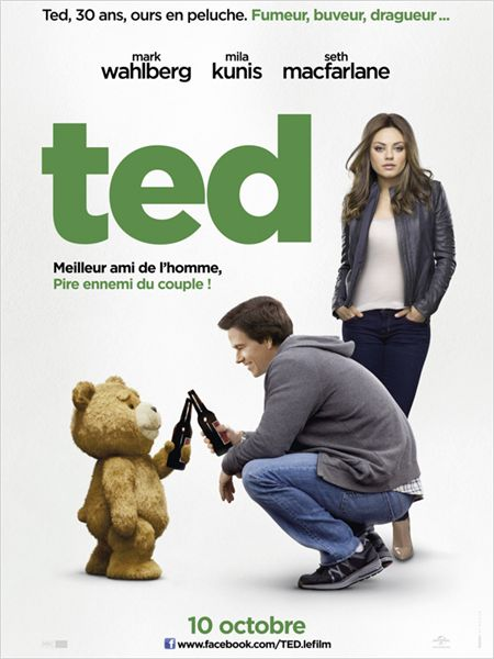 ted_mark wahlberg_mila kunis_seth macfarlane_affiche_poster