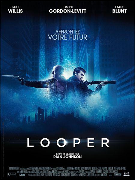 looper_joseph gordon-levitt_bruce willis_emily blunt_rian johnson_affiche_poster
