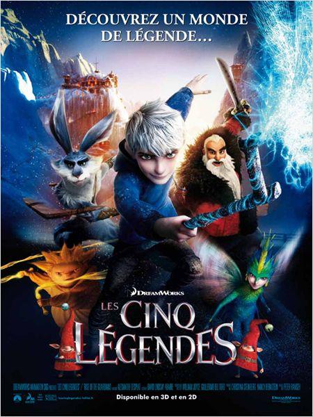 les cinq legendes_rise of the guardians_gaspard ulliel_nolwen leroy_affiche_poster