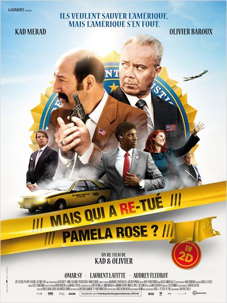 mais qui a re-tue pamela rose ?_olivier baroux_kad merad_omar sy_affiche_poster
