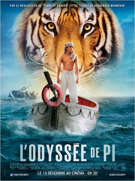 l'odyssee de pi_the life of pi_suraj sharma_irrfan khan_ang lee_affiche_poster