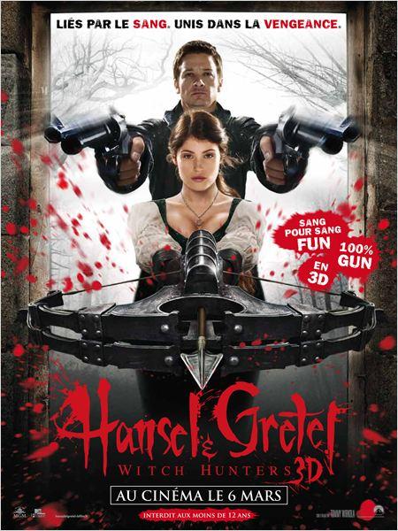 hansel & gretel witch hunters_jeremy renner_gemma arterton_tommy wirkola_affiche_poster