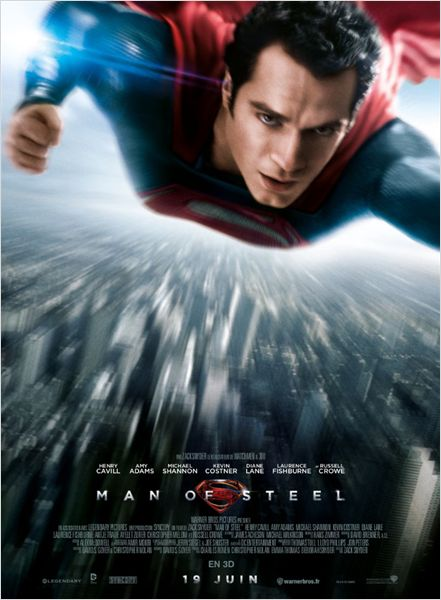 man of steel_superman_henry cavill_michael shannon_kevin costner_russell crowe_zack snyder_christopher nolan_affiche_poster