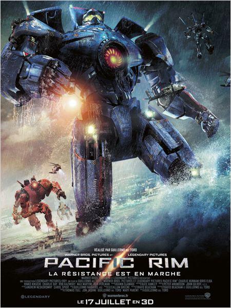 pacific rim_charlie hunnam_idris elba_ron perlman_guillermo del toro_affiche_poster