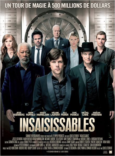 insaisissables_now you see me_jesse eisenberg_isla fisher_mark ruffalo_melanie laurent_woody harrelson_louis leterrier_affiche_poster