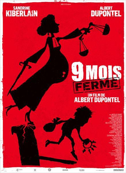 9 mois ferme_albert dupontel_sandrine kiberlain_affiche_poster