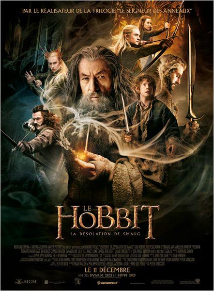 hobbit desolation smaug_martin freeman_ian mckellen_orlando bloom_peter jackson_affiche_poster