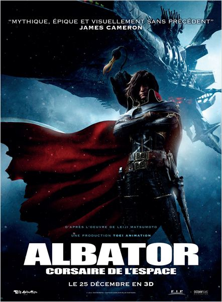 albator corsaire espace_harlock_leiji matsumoto_shinji aramaki_yu aoi_affiche_poster