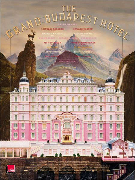 the grand budapest hotel_ralph fiennes_adrien brody_saoirse ronan_wes anderson_affiche_poster