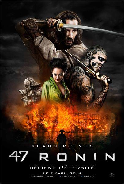 47 ronin_keanu reeves_hiroyuki sanada_carl rinsch_affiche_poster