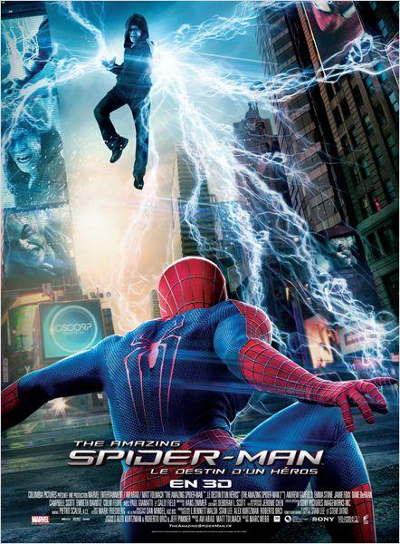 amazing spider-man destin héros_andrew garfield_emma stone_marc webb_affiche_poster