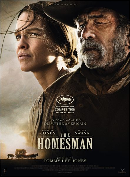 the homesman_tommy lee jones_hilary swank_miranda otto_affiche_poster