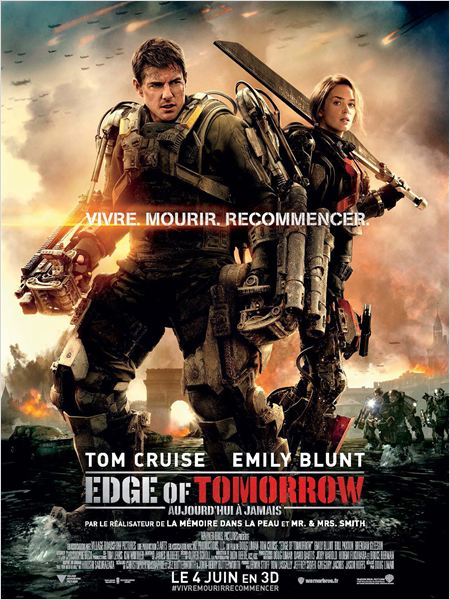 edge of tomorrow_tom cruise_emily blunt_doug liman_affiche_poster