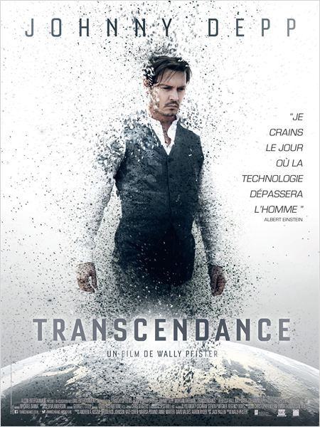 transcendance_johnny depp_rebecca hall_paul bettany_wally pfister_affiche_poster