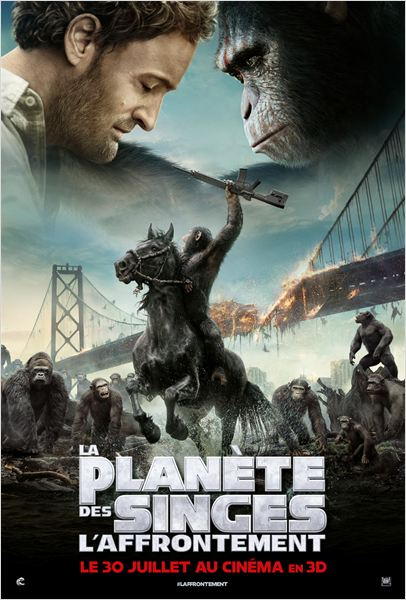 planete des singes affrontement_dawn of the planet of the apes_andy serkis_matt reeves_affiche_poster