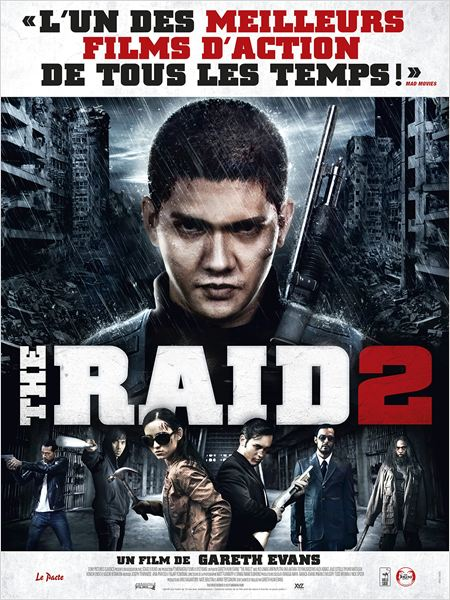 the raid 2_berandal_iko uwais_julie estelle_gareth edwards_affiche_poster
