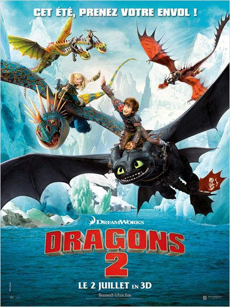 dragons 2_jay baruchel_gerard butler_dean deblois_affiche_poster