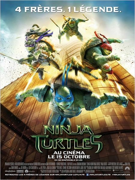 ninja turtles_les tortues ninja_megan fox_michael bay_jonathan liebesman_affiche_poster