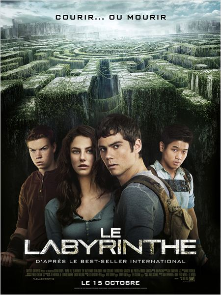 le labyrinthe_the maze runner_dylan o'brien_wes ball_affiche_poster