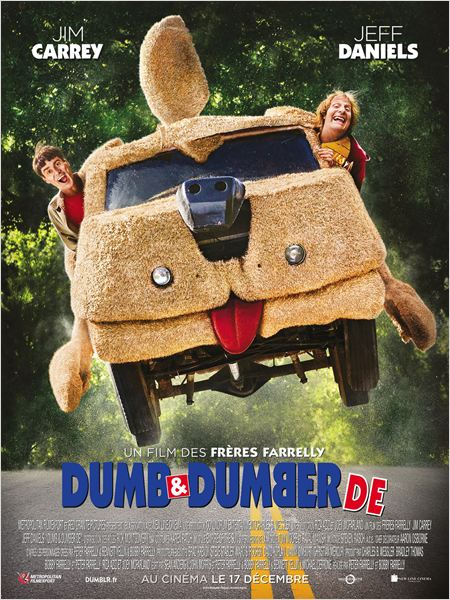dumb & dumber de_jim carrey_jeff daniels_peter & bobby farrelly_affiche_poster
