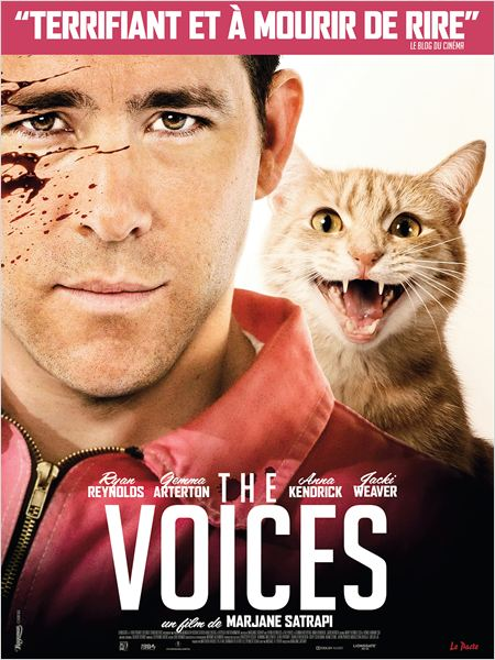 the voices_ryan reynolds_gemma arterton_marjane satrapi_affiche_poster