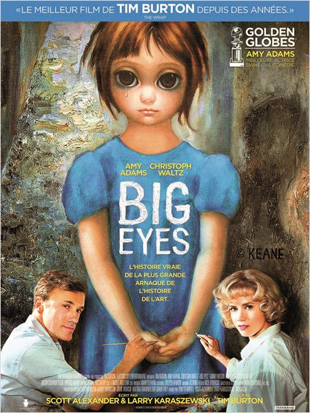 big eyes_amy adams_christoph waltz_tim burton_affiche_poster