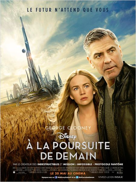 a la poursuite de demain_tomorrowland_britt robertson_george clooney_brad bird_affiche_poster