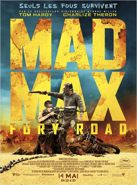 mad max fury road_tom hardy_charlize theron_george miller_affiche_poster