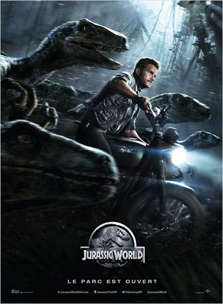 jurassic world_chris prat_bryce dallas howard_colin trevorrow_affiche_poster
