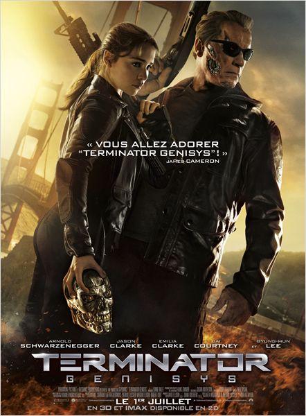 terminator genisys_arnold schwarzenegger_emilia clarke_alan taylor_affiche_poster