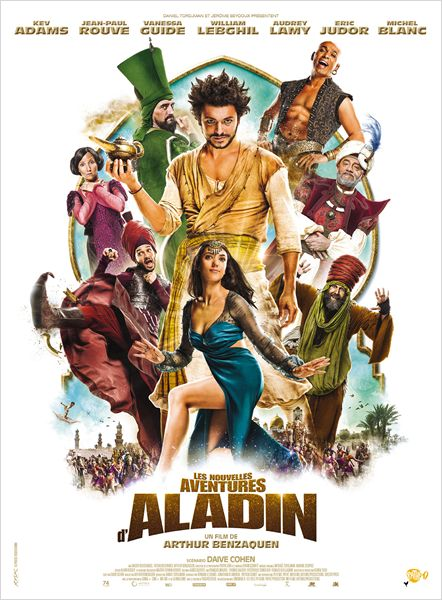 nouvelles aventures d aladin_kev adams_jean-paul rouve_william lebghil_arthur benzaquen_affiche_poster