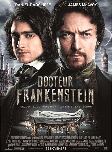 docteur frankenstein_daniel radcliffe_james mcavoy_paul mcguigan_affiche_poster