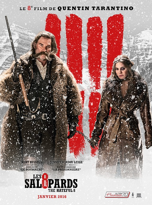 les huit salopards_the hateful eight_kurt russel_samuel l jackson_jennifer jason leigh_quentin tarantino_affiche_poster